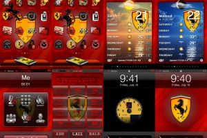 Ferrari iPhone Theme by Atom