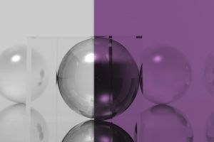 Thumbnail of featured Artwork: Grey & Purple