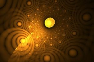 Thumbnail of featured artwork by members: Gold ball