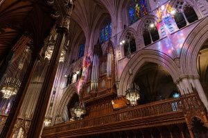 Thumbnail of featured artwork by members: National Cathedral Pipe Organ