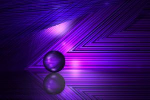 Thumbnail of featured artwork by members: Purple lines